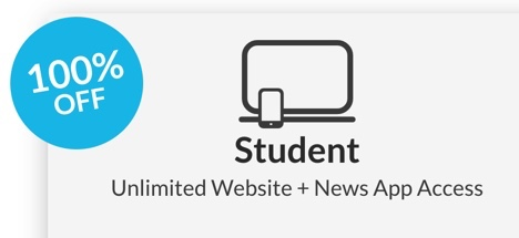 Irish Times free student account