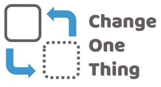 Change One Thing Logo